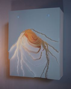 Angela Glajcar: Terforation VII/XVI (AGL/S 7), 2009, Paper, Metal and Plastics, 45 x 35 x 18 cm