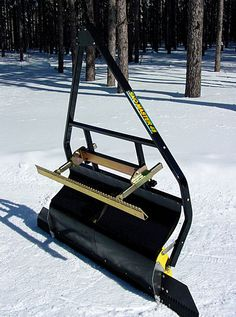 Cloman Park Latest Nordic Grooming   Pagosa Springs Journal  Cross Country Ski Trail Grooming