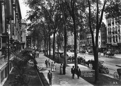Photo Courtesy of the George S. Bolster Collection of the Historical Society of Saratoga Springs -- Photographer, J. Wolley -- Looking North up Broadway with the United States Hotel on the left in this 1907 photo. Saratoga Springs New York, Old Photography, Old Images, Grand Hotel, Historical Society, Best Memories, Historical Photos, Great Photos, The Past