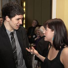 Colin with Jemima Rooper at Radio Times Cover Party 2009