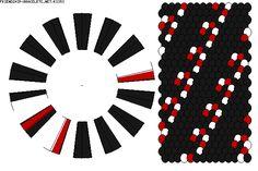 christmas kumihimo patterns | K3353 - friendship-bracelets.net
