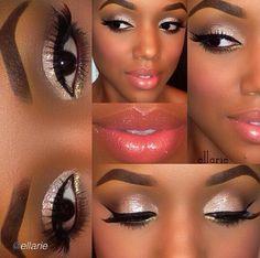 Simply smooth look! Kiss Makeup, Makeup Art, Beauty Makeup, Hair Makeup, Hair Beauty, Makeup Ideas, Gorgeous Makeup, Pretty Makeup, Makeup Looks
