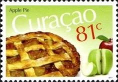 Apple Pie Apple Pie Cake, Food Stamps, Postage Stamps, Waffles, Food And Drink, Breakfast, Desserts, North America, Flora