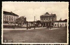 Bruxelles - Gare du Luxembourg - Bien avant la construction du parlement Européen et de son Esplanade