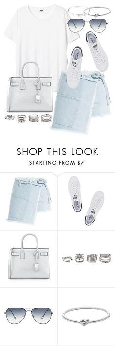 """""""Untitled #19794"""" by florencia95 ❤ liked on Polyvore featuring Sandy Liang, adidas Originals, Yves Saint Laurent, Forever 21, Michael Kors and Cartier"""