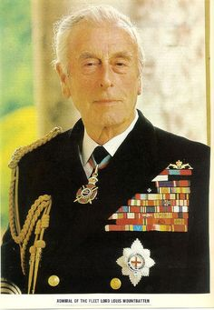 lord louis mountbatten | Lord Louis Mountbatten (murdered by the IRA) | Flickr - Photo Sharing!
