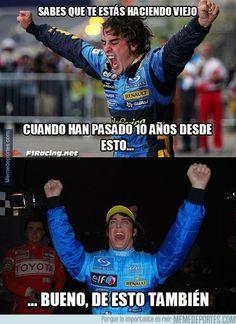 696376 - Décimo aniversario del primer título de Fernando Alonso