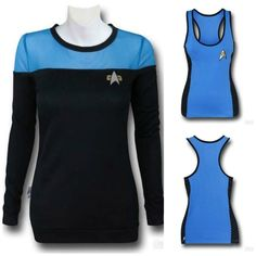 The 'Star Trek' Uniform Sweater And Tank Top Is A Great Combo