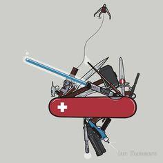 Swiss Army Knife #geek #tshirt