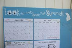 Summer Activities Calendar