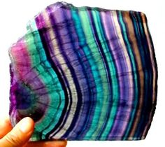Rainbow Fluorite from South Africa Photo : © Joanned Dusatko