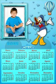 Recursos Photoshop Llanpac: Calendario del 2015 de Donald para Photoshop (Psd ...