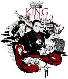 Moved older work. KING OF HELL(O BOYS). #spn #supernatural #crowley #deanwinchester #samwinchester #rowena #death #fanart #art #vectorart #vectordrawing #illustrator #moose #bw #red #demon #demondean #hell #kingofhell #jensenackles #jaredpadalecki #marksheppard #castiel #mishacollins #angel