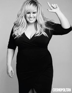 Rebel Wilson tells why she loves her body image and why you should too. (via E-news) The film industry often casts plus size women in comedic roles like Rebel. Style Adele, Curvy Fashion, Plus Size Fashion, Fashion Black, Petite Fashion, Fall Fashion, Style Fashion, Body Positivity, Corps Parfait