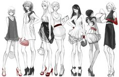 red and heels by hakuku.deviantart.com on @deviantART - From left to right: Liechtenstein, Hungary, Belarus, Ukraine, Taiwan, Seychelles, Belgium.