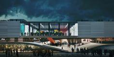 Proposta para o Pavilhão do Brasil na Expo Milão 2015/ André Cavendish, Caio Bruno Carvalho, João Pedro Neri, Lola Belchi, Lucas Ramos, Pris...