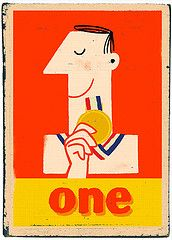 """Numbers typography design """"Another One"""" by Paul Thurlby"""