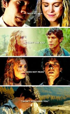 Ah these two! Bellarke=the death of me