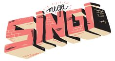 MEGASINGI | ILLUSTRATION FOR A LAUGH Have Fun, Joy, Drawings, Illustration, Glee, Sketches, Illustrations, Being Happy, Drawing
