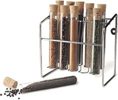This test tube spice rack for all your kitchen experiments. | Can You Get Through This Post Without Spending $50?