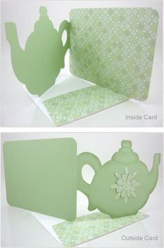 time for tea teapot card template