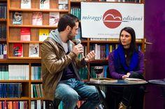 Stefano Sgambati e Arianna Gasbarro (che parlano di Fenomenologia di #YouPorn) via @Miraggi Edizioni