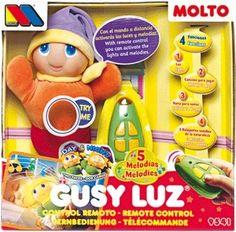 Molto Gusy Luz - un regalo clásico que no puede faltar y que acompañará a tu bebé en su descanso.