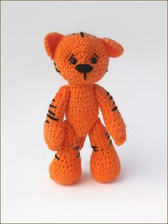 Tiger Cub ☺ Free Crochet Pattern ☺