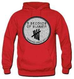 5 Seconds of Summer Hoodie 5sos Inspired Outfits, 5sos Outfits, Band Outfits, Cute Outfits, Band Merch, Band Tees, 5sos Merchandise, 5sos Girlfriends, Clothes To Order