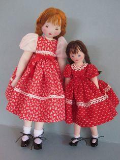 Little Edith Flack Ackley Pattern Doll Just Nine by dollways2
