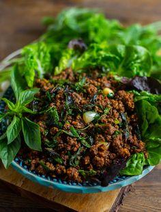 Kafta- Lättlagad köttfärskebab i långpanna - ZEINAS KITCHEN Zeina, 20 Min, Seaweed Salad, Eating Well, Salads, Beef, Japanese, Dishes, Baking