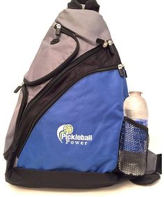 Urban Sport Sling Backpack - New embroidered - Blue - C911V7M3ZB3 4b45b2bbccf3a
