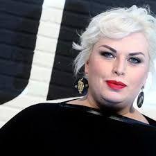 Alessandra #Angelina Angeli V-Reporter @ #TheVoice of Italy wearing total look #SaraNeri