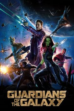 New poster for Guardians of the Galaxy from Marvel Studios featuring Chris Pratt, Zoe Saldana, Dave Bautista, Bradley Cooper and Vin Diesel Peter Quill, Hindi Movies, New Movies, Movies To Watch, Movies Online, Movies 2014, Movies Free, Popular Movies, Michael Rooker