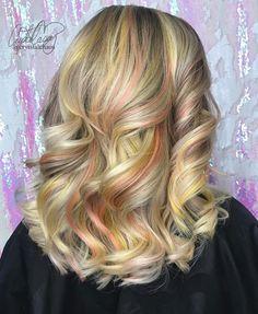 Blonde oil slick hai