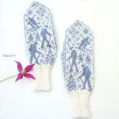 "Ravelry: I Make Mittens ""out for a walk. Fingerless Mittens, Knit Mittens, Knitted Gloves, Knitting Socks, Wrist Warmers, Hand Warmers, Knitting Patterns Free, Free Knitting, Norwegian Knitting"
