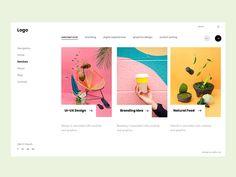 Business  Web UI Design