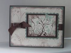 Love this color combo CC168 by jill031070 - Cards and Paper Crafts at Splitcoaststampers
