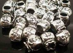 Conta Pingente Berloque Prata Tibetana Furo5mm Saco Dinheiro