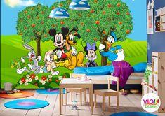 Fototapet Copii Disney Mickey and Friends - VIODesign Mickey And Friends, Disney Mickey, Kids Rugs, Home Decor, Art, Photo Wallpaper, Art Background, Decoration Home, Kid Friendly Rugs