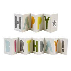 【楽天市場】あす楽!【meri meri メリメリ】HAPPY BIRTHDAY カード バナー 封筒付 オシャレなお誕生日カード プレゼント ギフト ラッピング バースデイのお祝いに:リトルレモネード楽天市場店