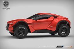 Дубайская компания Zarooq Motors готова начать мелкосерийное производство внедорожного спорткупе SandRacer GT500