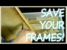 HOW TO Save your wired frames. http://www.mahakobees.com/blog. All beekeepers know, that building and maintaining your beekeeping equipment such as the beehives, frames, beeswax foundations, queen excluders and all the bee related tools of the beekeeping trade is time consuming and costly