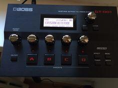 Multieffetto-scheda audio usb per chit/bass/voc BOSS GT 001