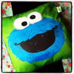 My Cookie Monster Pillow How Cute