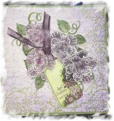 Scrappiness: Blomster av vellum