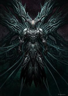 Beautiful Science Fiction, Fantasy and Horror art from all over the world. Dark Fantasy Art, Foto Fantasy, Fantasy Armor, Fantasy World, Dark Art, Demon Art, Fantasy Monster, Monster Art, Fantasy Character Design