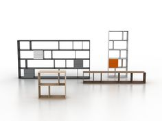 FORMAT SHELVING by Bensen