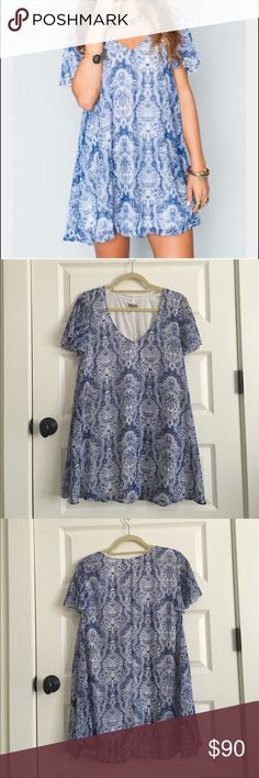 Show Me Your Mumu Kylie dress Great condition, super cute on!! Show Me Your MuMu Dresses