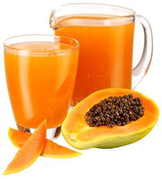 Papya--I drink it to help with my arthritis.  Great mixed with Orange Juice and Knudeson's Morning Blend.